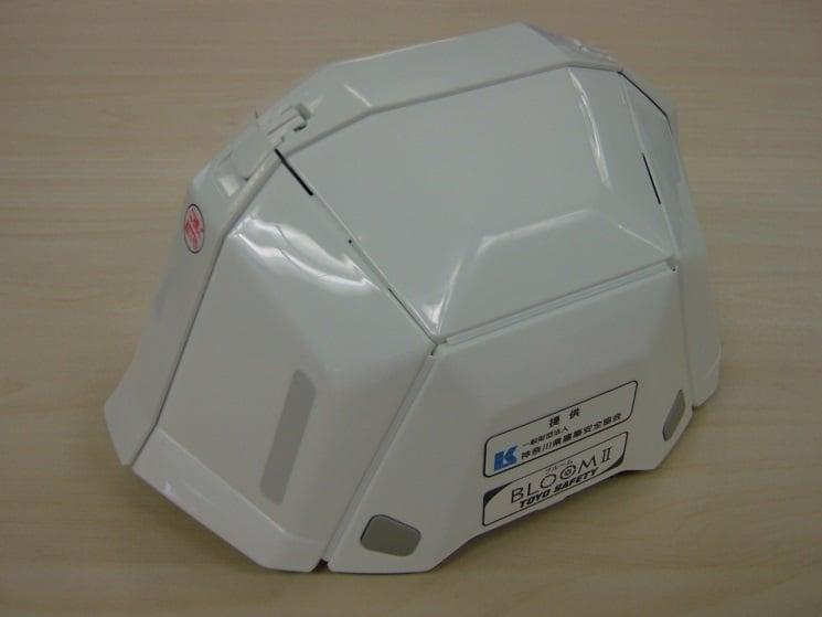 折りたたみ式ヘルメット